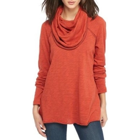 Free People Tops - Free People Beach Cocoon Cowl Neck.